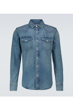 Ralph Lauren Western-style denim shirt