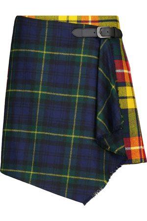 Polo Ralph Lauren Checked wool miniskirt