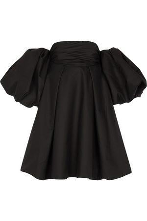 Khaite Katerina off-shoulder cotton minidress