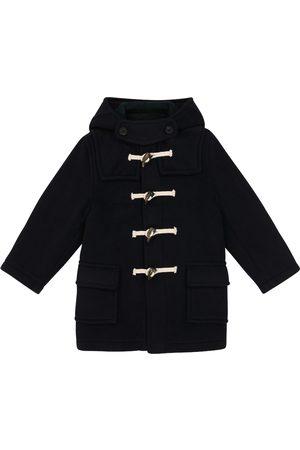 Caramel Swift wool-blend duffle coat
