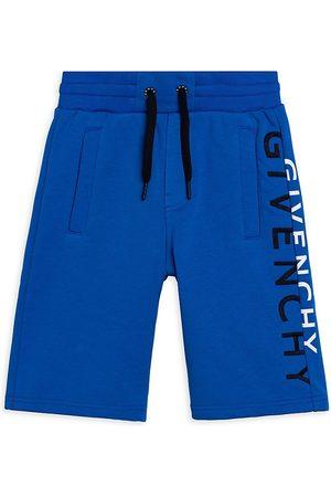 Givenchy Little Boy's & Boys Split Logo Fleece Bermuda Shorts