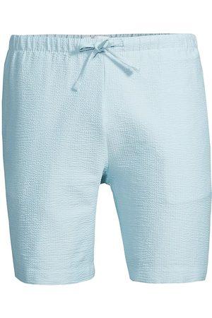 ONIA Seersucker Pull-On Shorts