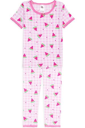 Esme 2-Piece Little Girl's & Girl's Watermelon Pajama Set
