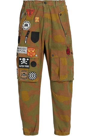 Dsquared2 Camo Print Patch Cargo Pants