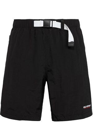 Polo Ralph Lauren Logo-Print Belted Hiking Shorts