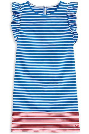 Vineyard Vines Little Girl's & Girl's Sankaty Stripe Dress