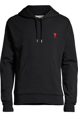Ami Embroidered Hoodie Sweatshirt