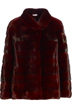 The Fur Salon Sectioned Mink Fur Jacket
