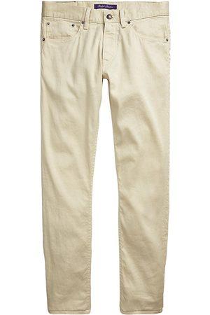 Ralph Lauren Linen-Blend Slim Jeans
