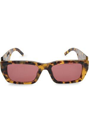 Palm Angels 18MM Rectangle Logo Sunglasses