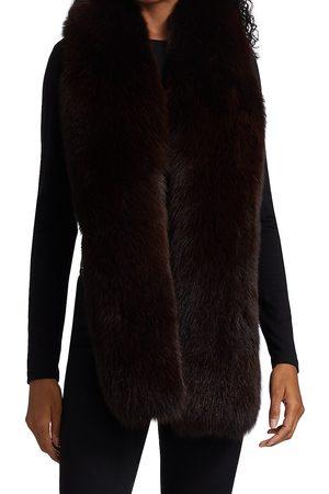 The Fur Salon Women Scarves - Fox Fur Scarf