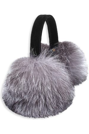 The Fur Salon Fox Velvet Band Earmuffs