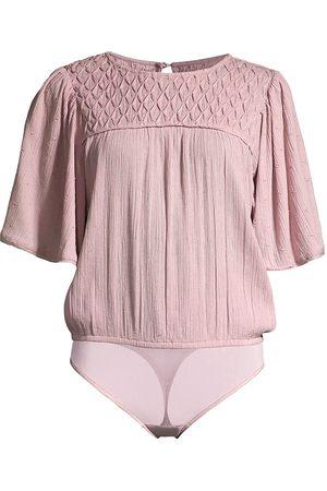 Free People Women Lingerie Bodies - Perfect Catch Bodysuit