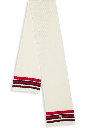 Moncler Wool-Blend Striped Scarf