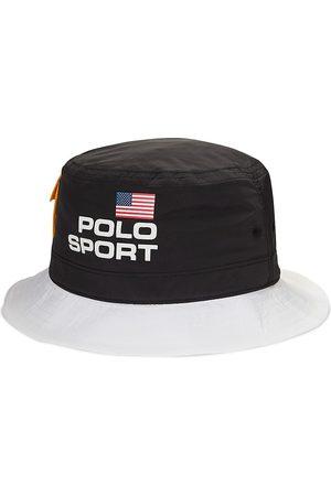 Polo Ralph Lauren Logo-Print Bucket Hat