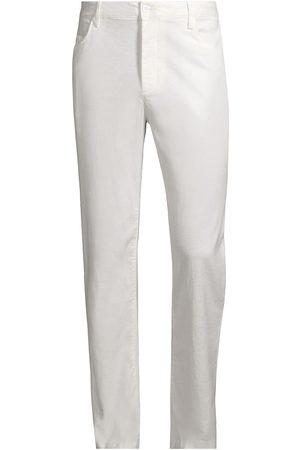 ONIA Stretch Linen Traveler Pants