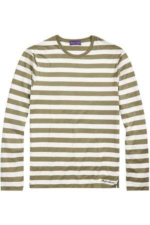 Ralph Lauren Striped Lisle Long-Sleeve T-Shirt