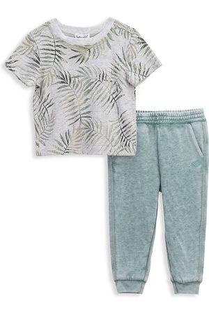 Splendid Baby's & Little Boy's 2-Piece Palm Tree T-Shirt Set