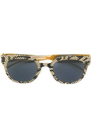MYKITA Square frame printed sunglasses - Metallic