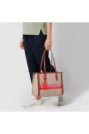 Kate Spade Women Tote Bags - Women's Market Logo Medium Tote Bag