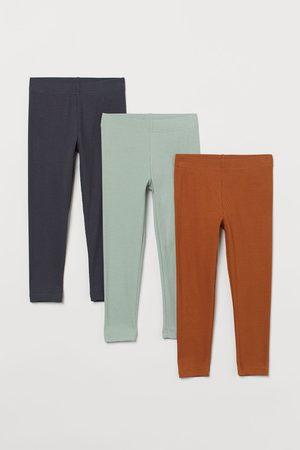 H&M Jeans - 3-pack Ribbed Leggings