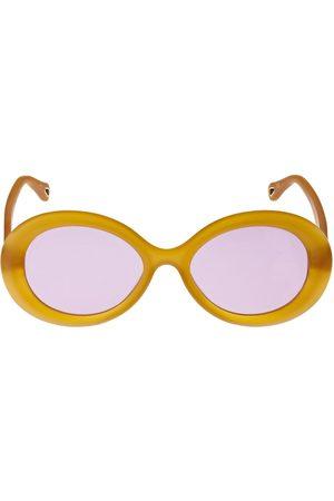 Chloé Osco Round Acetate Sunglasses