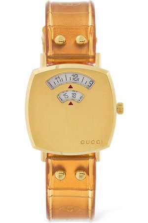 Gucci 27mm Grip Watch W/ Rubber Strap
