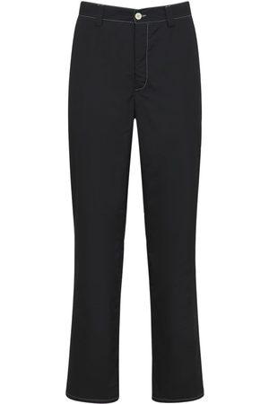 SUNNEI Men Straight Leg Pants - Light Nylon Straight Pants