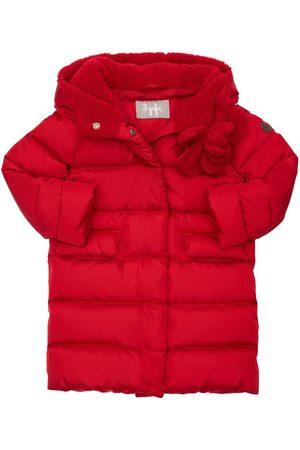 Il gufo Girls Jackets - Hooded Nylon Down Coat