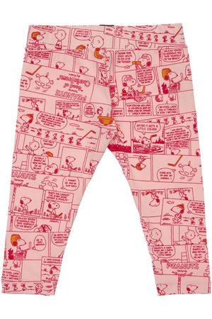 PUMA All Over Peanuts Print Jersey Leggings