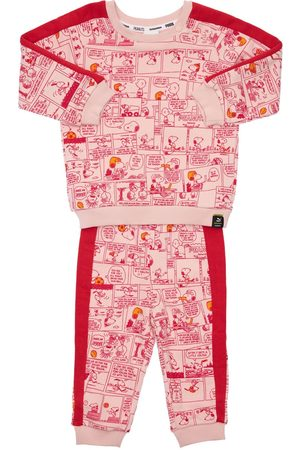 PUMA Girls Sweatpants - Peanuts Printed Sweatshirt & Sweatpants