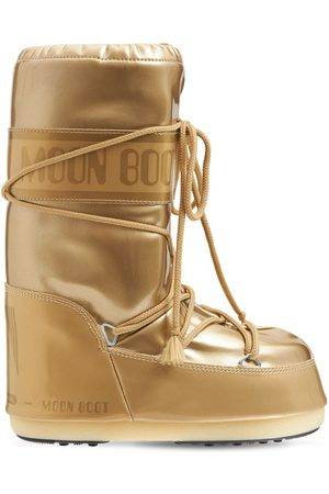 Moon Boot Girls Snow Boots - Laminated Snow Boots