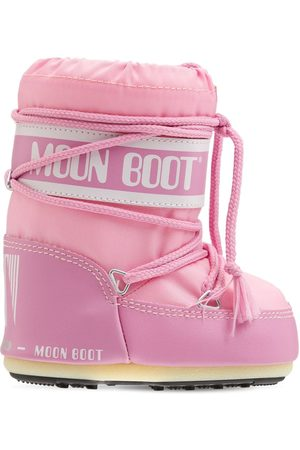 Moon Boot Nylon Ankle Snow Boots