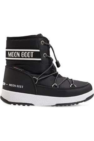 Moon Boot Boys Ankle Boots - Nylon Ankle Snow Boots