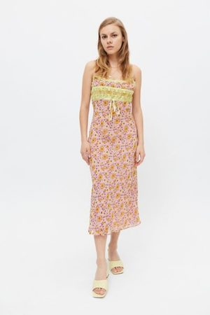 Urban Outfitters UO Becca Midi Dress
