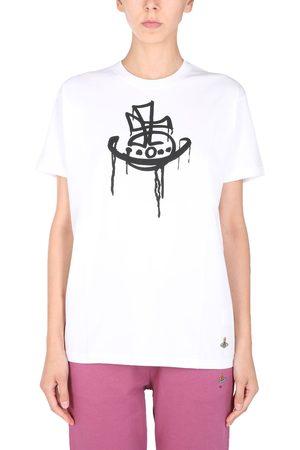 "Vivienne Westwood Women T-shirts - ""drip classic"" t-shirt"