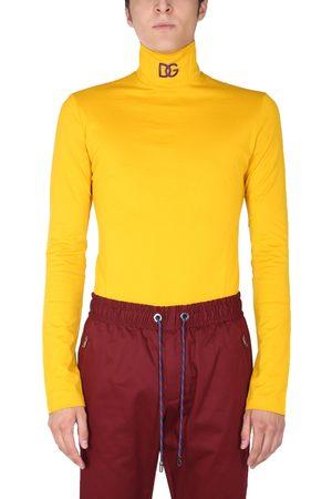 Dolce & Gabbana High neck sweater with logo