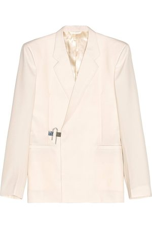Givenchy Lightweight Wool Slim Fit Padlock Jacket