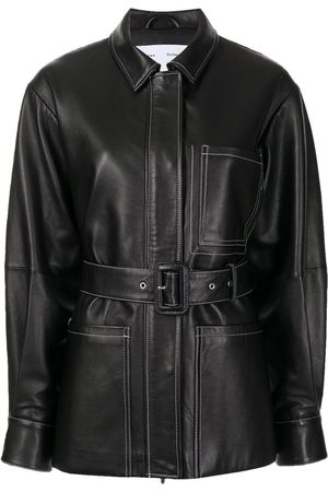 Proenza Schouler Belted Leather Jacket