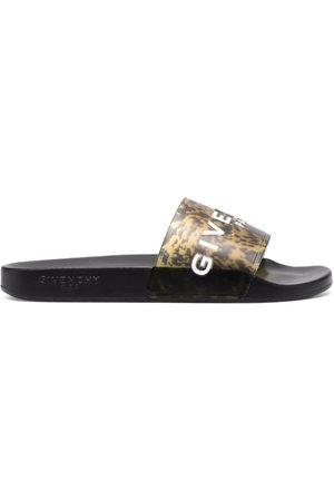 Givenchy Marble Effect Slide Sandal