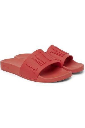 AMIRI 3D Logo Pool Slide Sandal