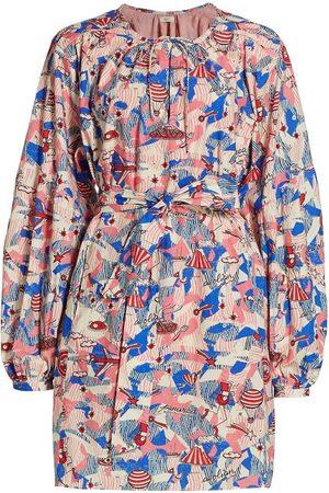 CHUFY X André Saraiva Panarea Mini Dress