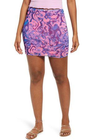 BP. Women's Be Proud By Gender Inclusive Print Mesh Tube Skirt
