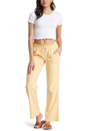 Roxy Women's Oceanside Linen Blend Beach Pants
