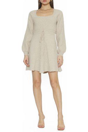 4SI3NNA Women's Lylah Long Sleeve Sweater Dress