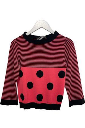 Moschino Wool jersey top