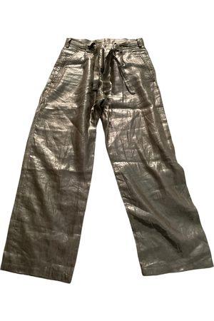 Roberto Cavalli Linen trousers