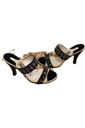 Salvatore Ferragamo Velvet sandal