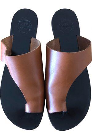 ATP Atelier Leather sandal
