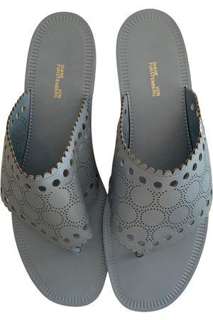 Diane von Furstenberg Leather sandal